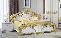Кровать Ева с мягкой вставкой 160х200 МироМарк