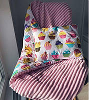 Дитяча подушека в ліжечко, фото 1