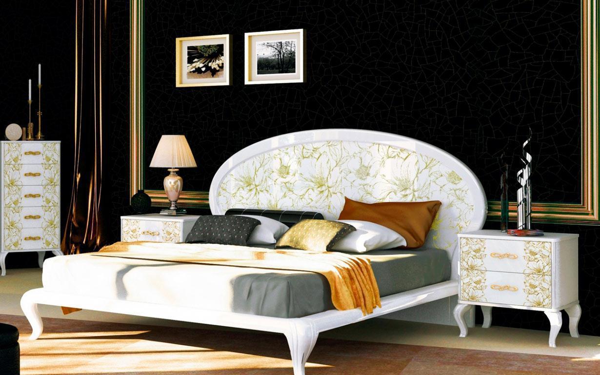 Кровать Пиония 160х200 см. МироМарк