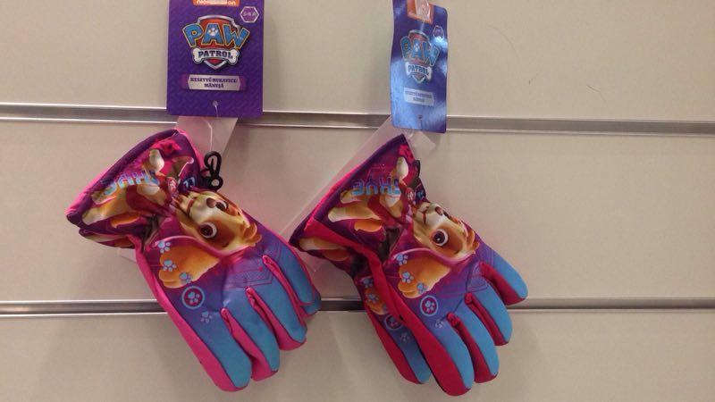 Перчатки для девочек Disney оптом,балоньевые размеры 3-6 лет арт 800-567