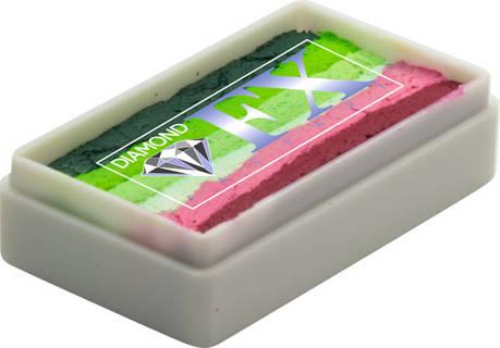 Аквагрим Diamond FX cплит кейк 28 g Дыня, фото 2