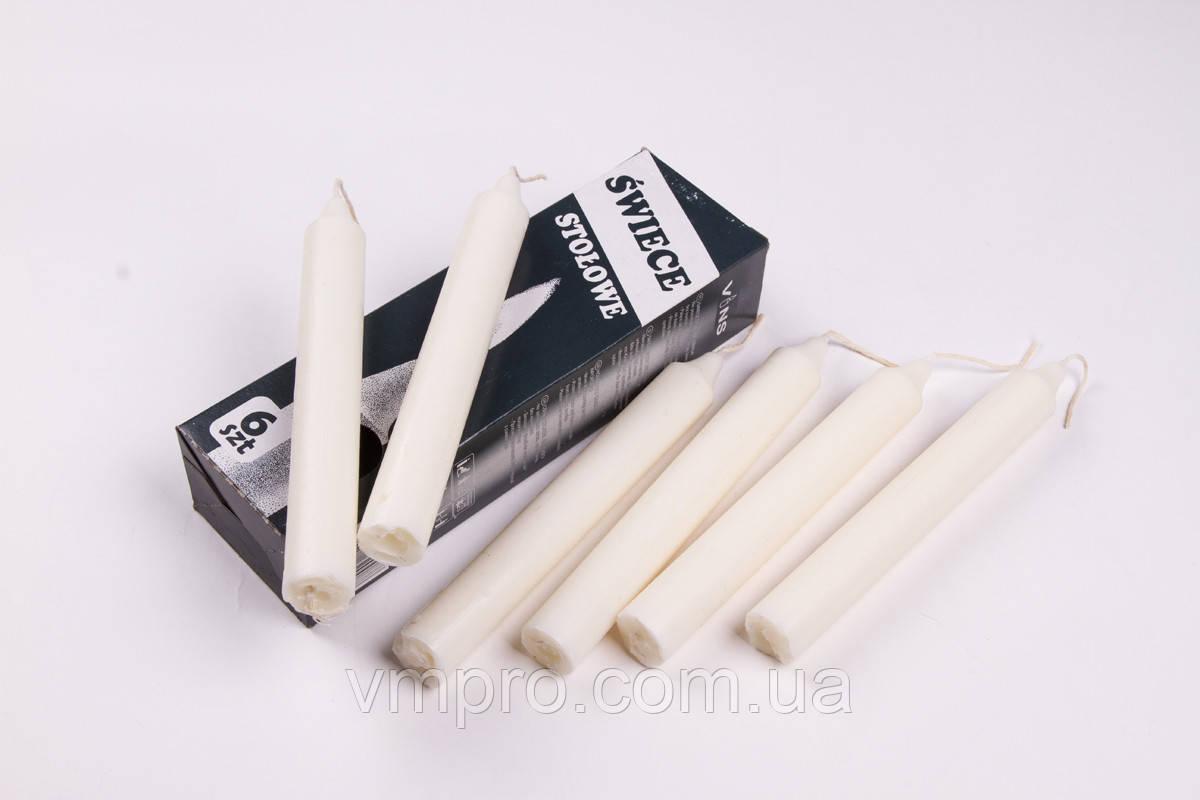 Свечи хозяйственные польские 20 × 190, 7 часов, 6 шт/упаковка