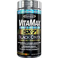 Витамины для мужчин MuscleTech VitaMax SX-7 Black Onyx for Men (Energy & Metabolism) (120 таб)