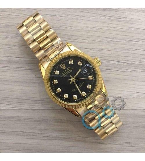 c44694fcaa0d Часы Наручные Rolex Date Just New Gold-Black — в Категории