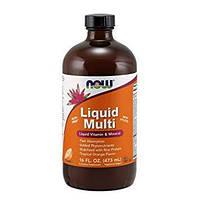 Витамины и минералы NOW Foods Liquid Multi (473 мл)