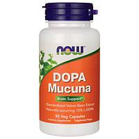 Жиросжигатель NOW Foods DOPA Mucuna (90 капс)