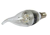Светодиодная лампа LEDMAX CANDLE 3X1 CW Е14 220В (3 шт)