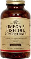 Комплекс незаменимых жирных кислот Solgar Omega 3 Fish Oil (240 капс)