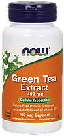 Комплекс с экстрактом зеленого чая NOW Foods Green Tea Extract (400 мг) (250 капс)
