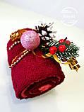 Подарок из полотенец Рулет новогодний, фото 3