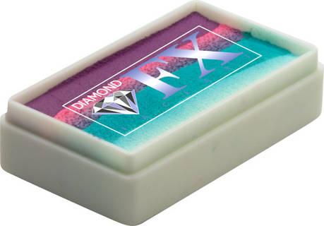 Аквагрим Diamond FX cплит кейк 28 g Скрученные карандаши, фото 2