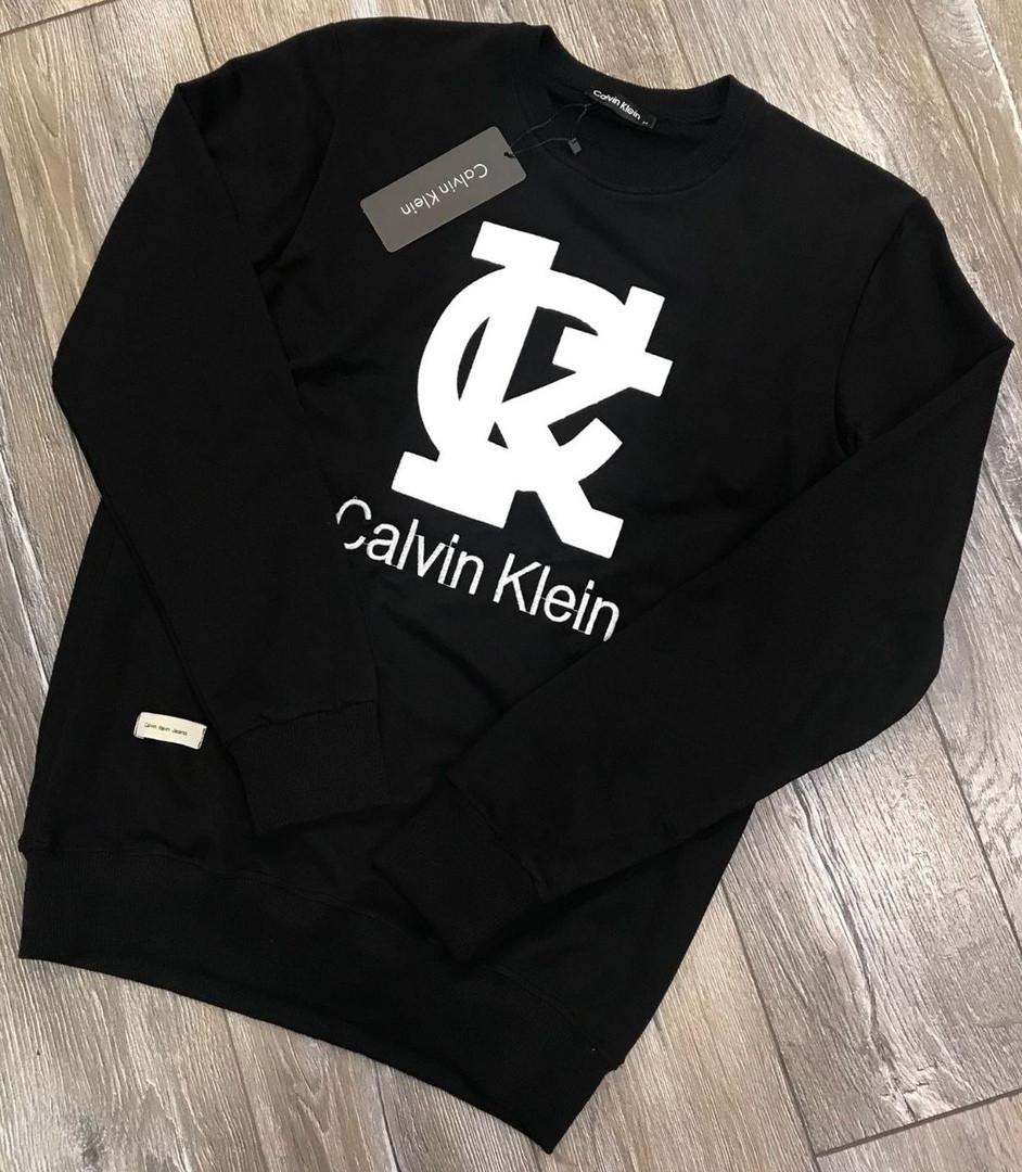 Свитшот  calvin clean черный