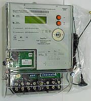Электросчетчик MTX 3G30.DH.4L1-DOG4 3ф. 5(100)А,  A±,R±, GSM-модем, датчик магн.поля, реле нагрузки