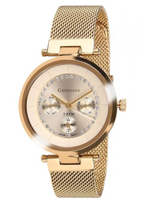 Женские наручные часы Guardo P11405(m) GG