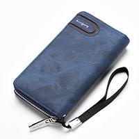 Клатч портмоне на ремешке Baellerry Синий