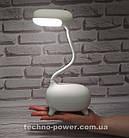 Детская настольная LED лампа Remax Deer LED Lamp RT-E315 с аккумулятором. Портативная Led лампа детская, фото 2