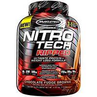 Протеин MuscleTech Nitro Tech RIPPED (1,8 кг)