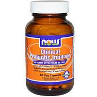 Энергетические и специальные препараты NOW Foods Clinical Probiotic Immune (60 капс)