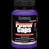 Энергетические и специальные препараты Ultimate Nutrition Power caps (90 капс)