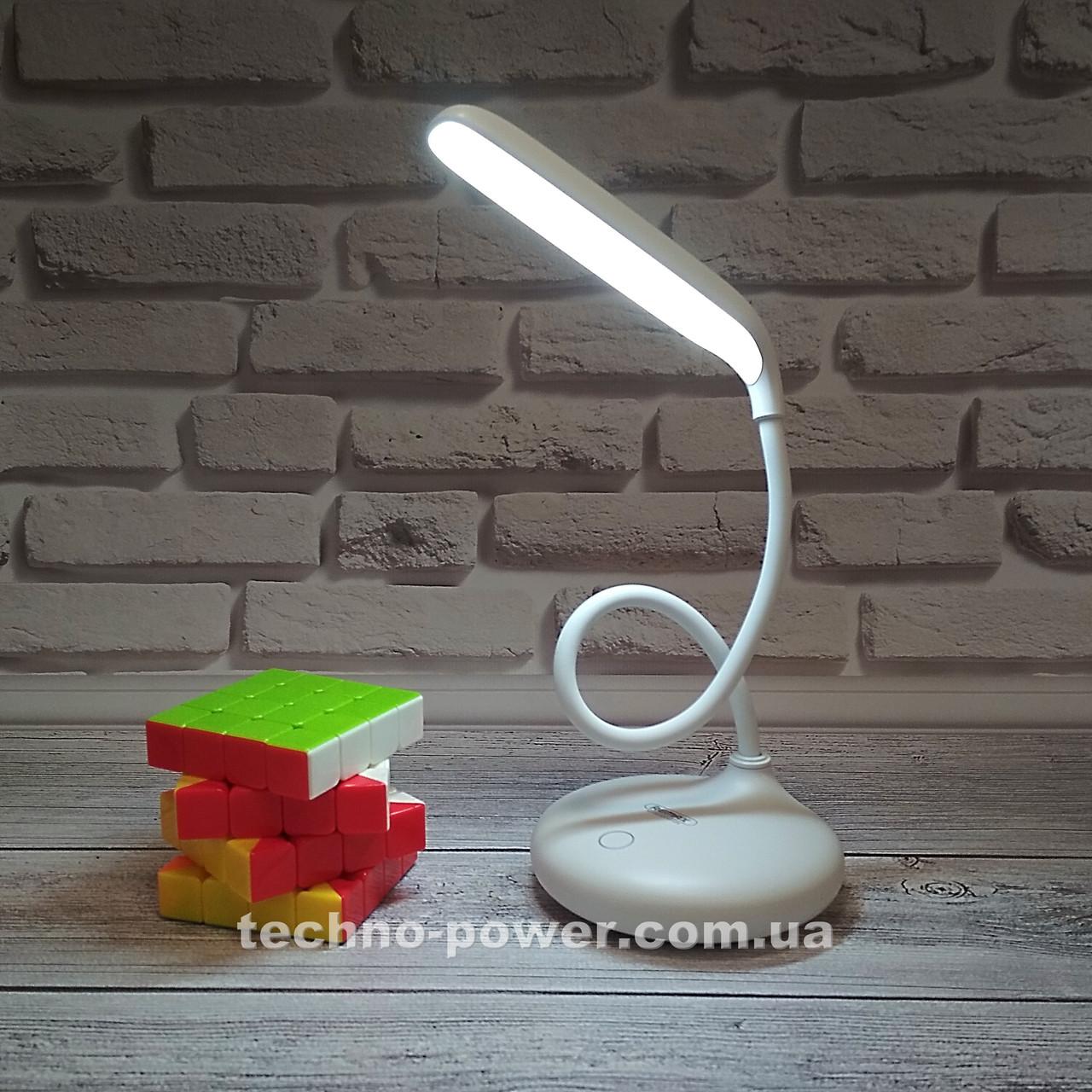 Настольная лампа Remax RT-E190 Dawn LED Lamp c аккумулятором. Портативная сенсорная лампа
