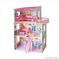 Деревянный домик для кукол С 31813 (1)