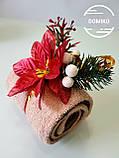 Подарок из полотенец Рулет рождественский, фото 2