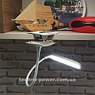 Настольная лампа-прищепка Remax RT-E195 Dawn LED Lamp с аккумулятором, фото 6