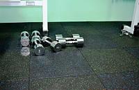 Резиновое плитка для тренажерного зала