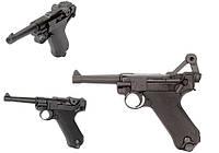 Пистолет пневматический KWC Luger P08 Blowback