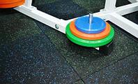 Плитка для тренажерного зала из резиновой крошки