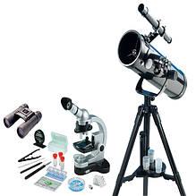 Телескопи, мікроскопи