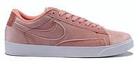 "Кроссовки Nike Blazer Low Surfaces ""Light Lavender Velours""  (Копия ААА+)"