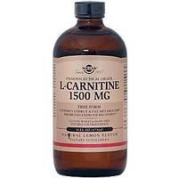 L-карнитин жидкий, Solgar, 1500 мг, ( 473 мл)
