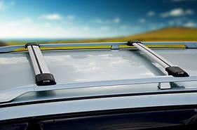 Перемычки на рейлинги без ключа (2 шт) - Fiat Idea 2003 +