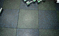 Резиновая плитка для спортивных площадок, фото 1