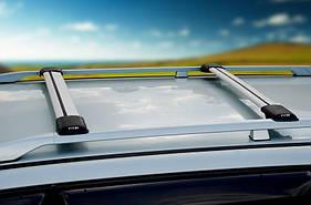 Перемычки на рейлинги под ключ (2 шт) - Fiat Idea 2003 +