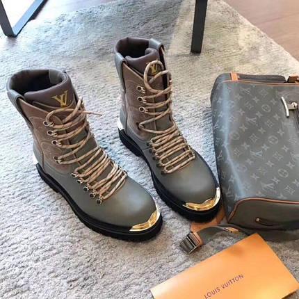 Женские ботинки Louis Vuitton. Зима и осень купить в Украине, фото 2 c28a4a8f13a