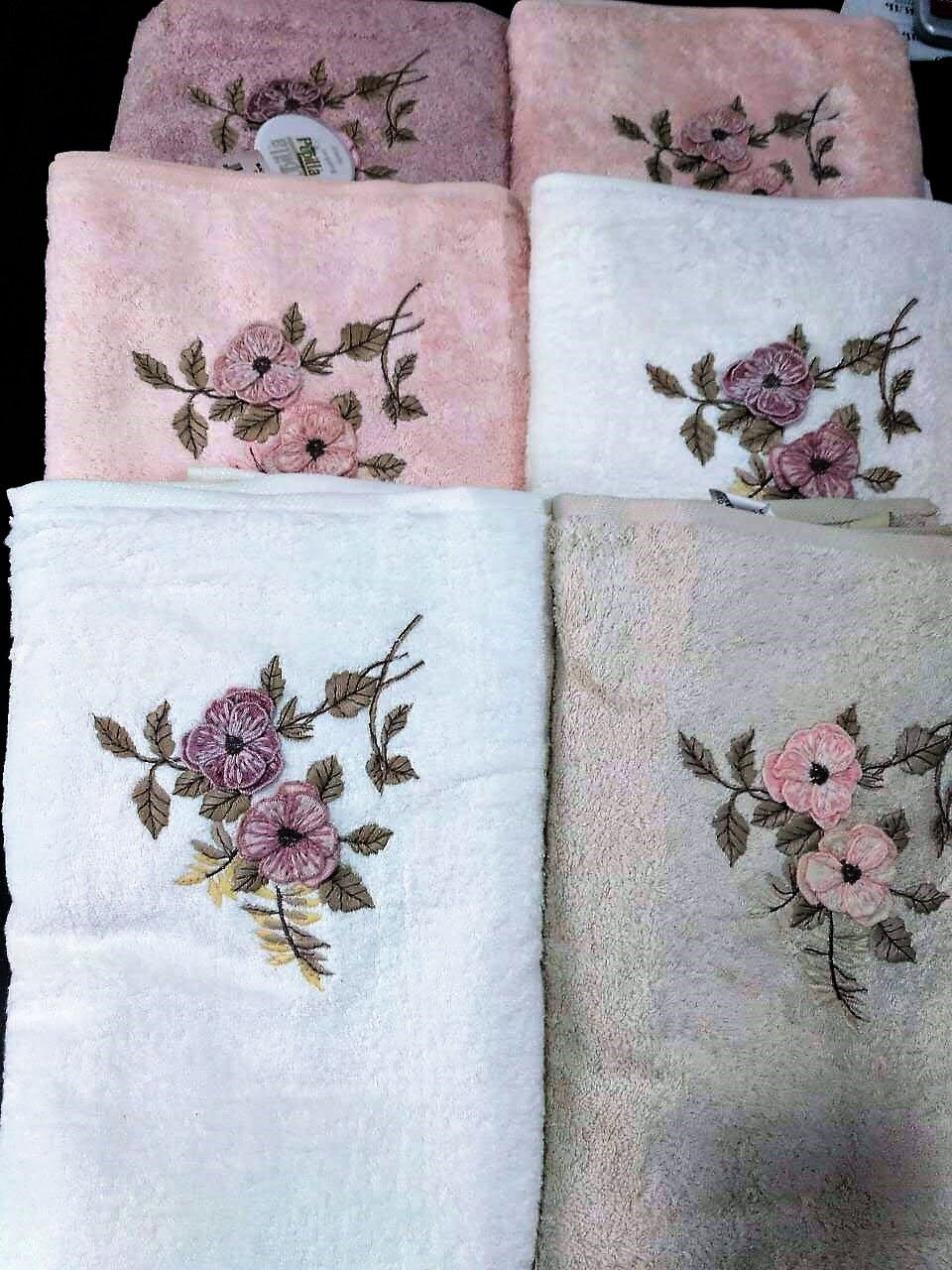 Банное полотенце 50*90 (100% бамбук), Puppila, Турция