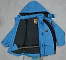 Куртка зимняя Snowzone 45 голубая (QuadriFoglio, Польша), фото 5