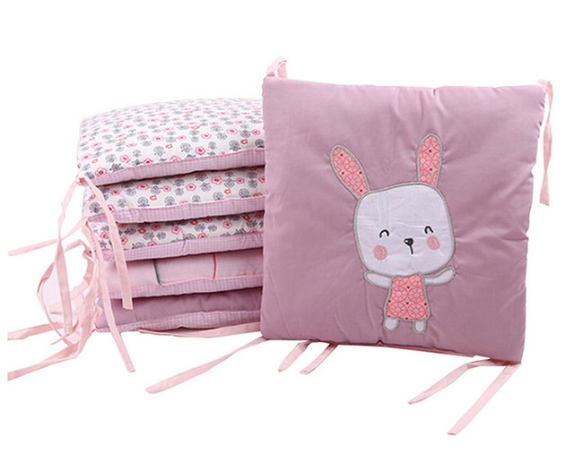 Бортики-подушки для детской кроватки