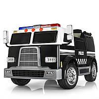 Електромобіль поліцейська машина M 3828EBLR-2, фото 1