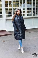 Женское двустороннее пальтона силиконе, размер 42-58