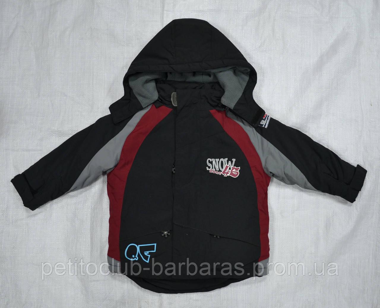 Куртка зимняя Snowzone 45 черная (QuadriFoglio, Польша)