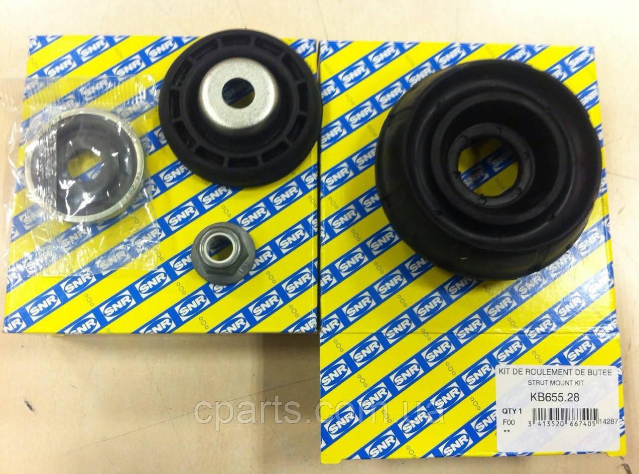 Комплект опоры переднего амортизатора Dacia Sandero (SNR KB655.28)(высокое качество)