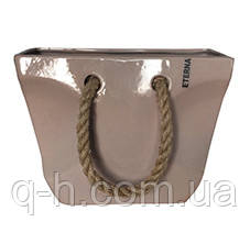 Декор - ваза Сумка из керамики 17*9*29см, фото 2