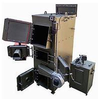 Пиролизный котел на дровах DM-STELLA 120 кВт с автоматическим удалением золы