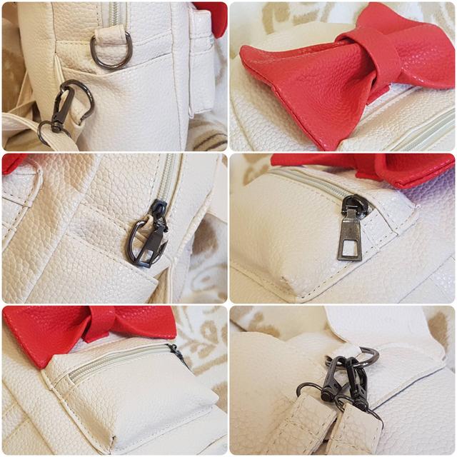 Женский рюкзак Микки с ушками реальные фото