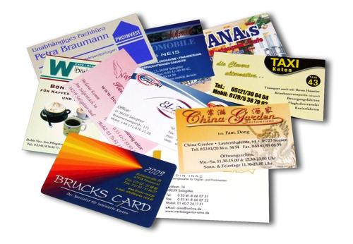 Печать визиток дешево в Днепре