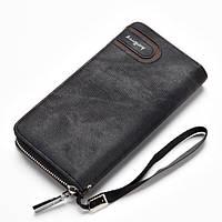 Клатч портмоне на ремешке Baellerry Черный