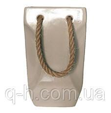Декор из керамики в виде сумочки 24*10,5*18см, фото 2